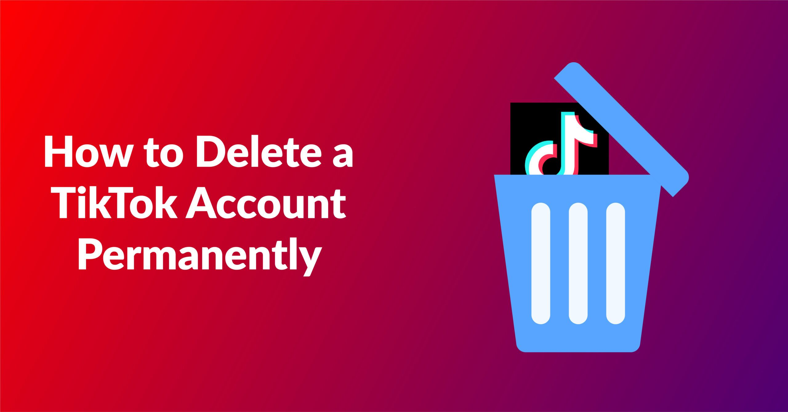 How to Delete a TikTok Account Permanently | 2021 Best Guide - Fileion.Com