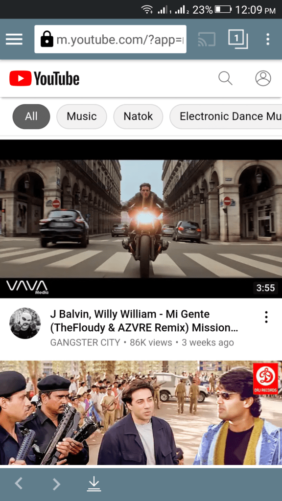 TubeMate APK Successfully Installed on Android Device