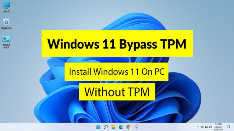 Windows 11 Bypass TPM: How to Install the Windows 11 Without TPM - Fileion.Com