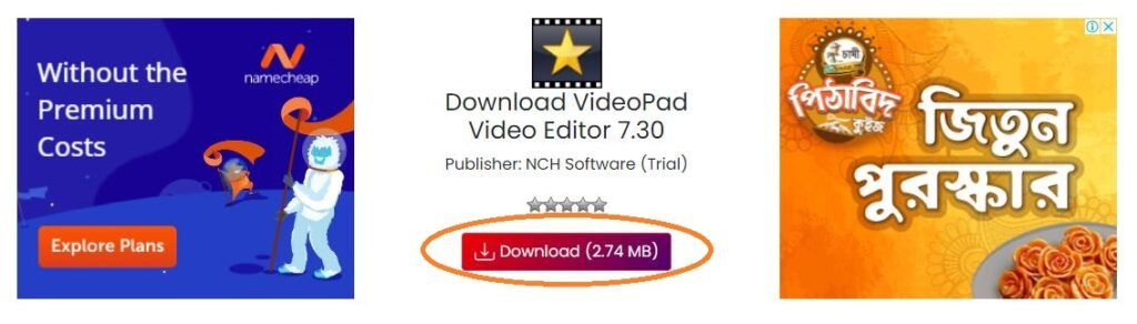 VideoPad Video Editor Plus Download - Fileion.Com