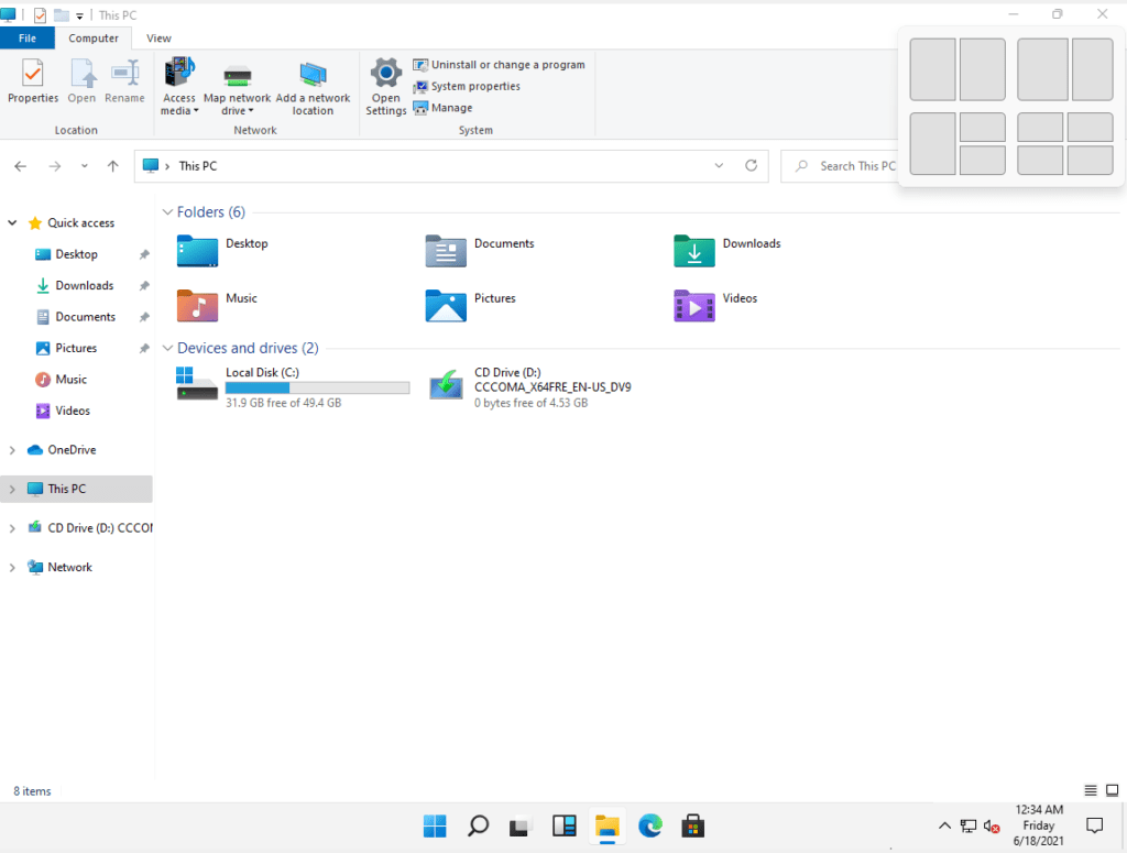 Windows 11 New Feature