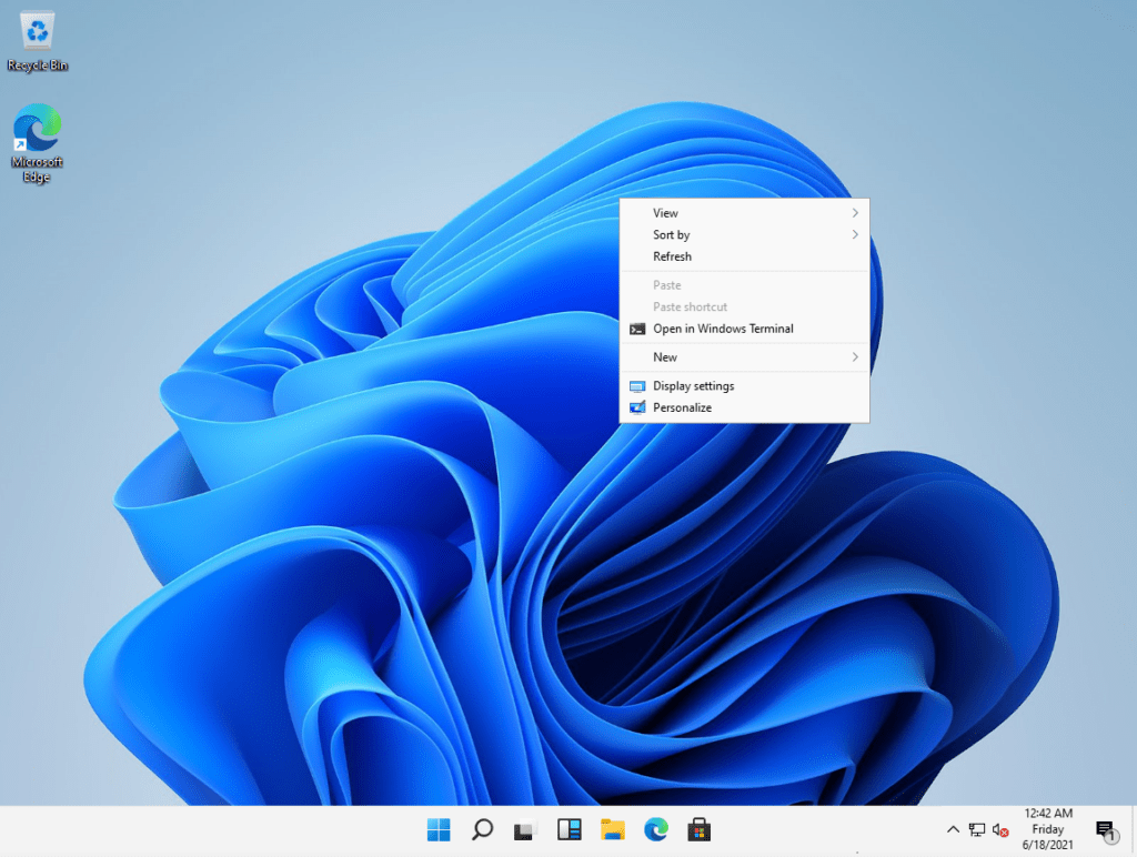 Windows 11 Right Side Click Functions