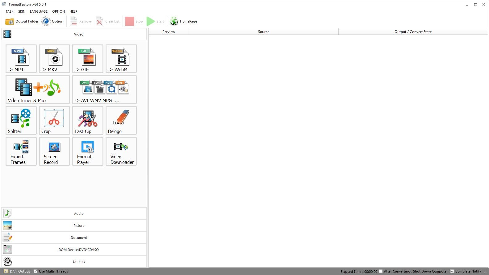 Format Factory Free Download for Windows PC - Fileion.Com