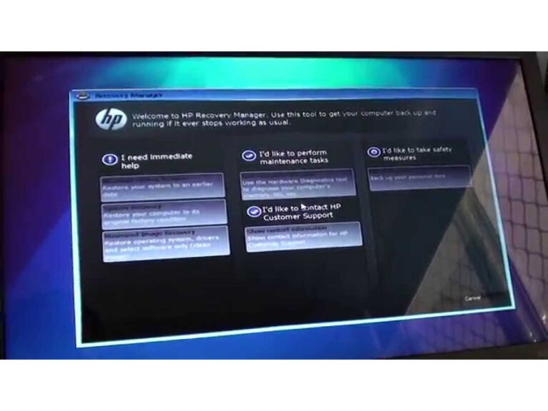HP Recovery Manager Download for Windows - Fileion.Com